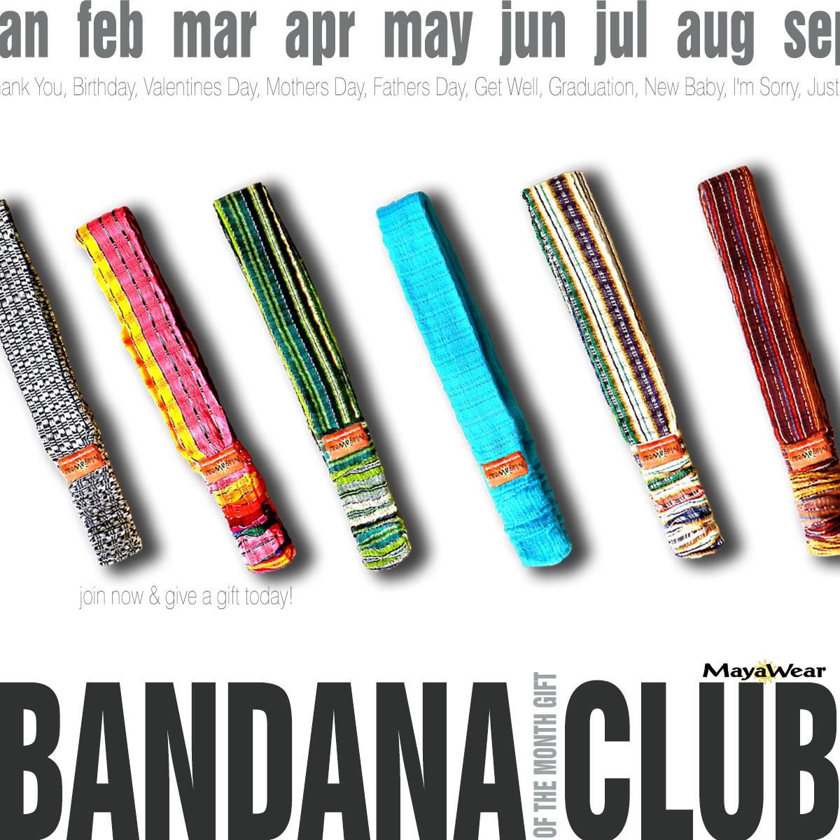 Bandana Gift Club